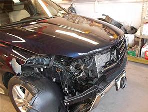 Before Auto Body Repair Work