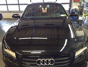 Repaired Audi Photo